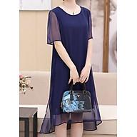 Đầm Nữ Suông Trung Niên DRESS921 - Xanh Đen thumbnail