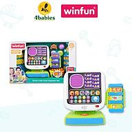 Bộ đồ chơi giáo dục sớm, nhập vai máy tính tiền tự động WINFUN 2515 kích thích bé phát triển trí tưởng tượng - BPA free thumbnail