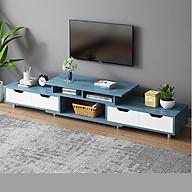 Kệ TiVi bằng gỗ lắp ghép nhiều ngăn thiết kế hiện đại, tiện lợi thumbnail