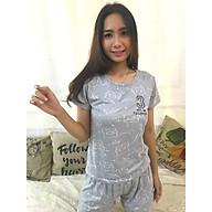 Bộ đồ ngủ cotton Sayhome Z590SIMPSONS-FXA màu xám thumbnail