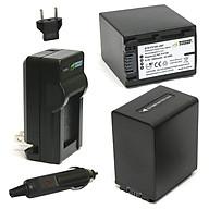 Combo 2 Viên Pin Và Sạc Đôi WASABI FV100 FP100 FV50 Cho Sony Camera - Hàng Nhập Khẩu thumbnail