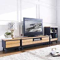 Tủ TV 5 Ngăn Kéo NB-Blue Gỗ Tự Nhiên Ibie LV5KNBBR - Xanh (160 x 42 cm) thumbnail