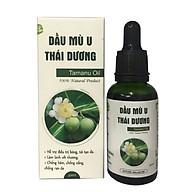 Dầu mù u Thái Dương - Chăm sóc làn da bé, giảm bỏng, giảm ngứa, giảm hăm tã,... thumbnail