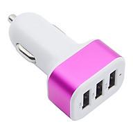 Bộ Sạc Nhanh 3 Đầu USB Cho Điện Thoại thumbnail