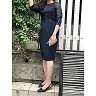 Đầm Trung niên Kim sa Bigsize Sang Trọng - HATI 989 thumbnail