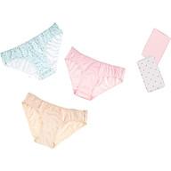 Combo 06 quần lót nữ thun lạnh họa tiết Vera thumbnail