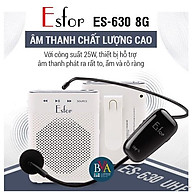 Máy trợ giảng Không dây ESFOR ES-630 8G Hàn Quốc - HÀNG CHÍNH HÃNG thumbnail