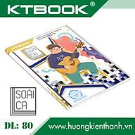 Gói 5 cuốn Tập Học Sinh cao cấp Soái Ca KTBOOK giấy trắng ĐL 80gsm - 200 trang thumbnail