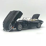 Xe Mô Hình Jaguar E-Type Roadster Series I 3.8 (Black)(With Metal Wire-Spoke Wheels) 1 18 Autoart - 73605 (Đen) thumbnail