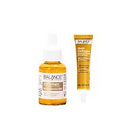 Combo tinh chất Gold Collagen Rejuvenating Balance Active Formula tái tạo trẻ hóa da mặt 30ml và serum mắt gold collagen eye Balance Active Formula làm sáng và căng vùng da mắt 15ml, hàng chính hãng thumbnail