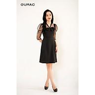 Đầm dáng xòe tay bồng cổ nơ GUMAC DB3214 thumbnail