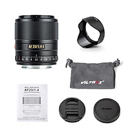 VILTROX AF23 1.4E 23mm F1.4 Large Aperture Humanistic Prime Lens Auto Manual Focus Lens APS-C Compatible with Sony thumbnail