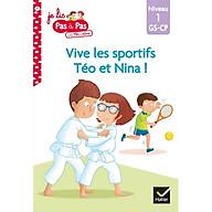 Sách tập đọc tiếng Pháp - Téo et Nina niveau 1 - Vive les sportifs thumbnail