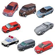 Mô hình giấy cắt dán thủ công Xe ô tô Combo 0007 thumbnail