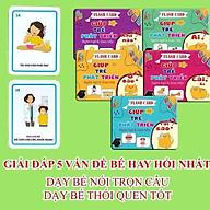 Bộ thẻ flashcards phát triển ngôn ngữ và giao tiếp (combo 5 chủ đề) thumbnail