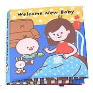 Đồ chơi - Sách vải Welcome New Baby thumbnail