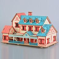 Đồ chơi lắp ráp gỗ 3D Mô hình Biệt Thự Nalaiti thumbnail