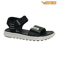 Giày Sandal Vento SD-NB93 Quai Ngang Da PU Màu Đen thumbnail