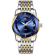 Đồng hồ nam FOuRRON F289 santafe watch 2020 Lịch ngày dây thép không gỉ cao cấp thumbnail