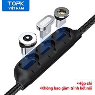 [HÀNG CHÍNH HÃNG] Hộp Đựng Đầu Cắm Nam Châm TOPK L34 - Micro, USB Loại C, IPHONE (Không Bao Gồm Đầu Nối) - INTL - Phân phối bởi TOPK VIỆT NAM thumbnail