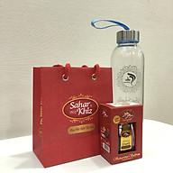 Nhụy hoa nghệ tây Saffron Saharkhiz chính hãng Dòng Super Negin 1gram-Nhập khẩu từ Iran, tặng kèm bình nước thủy tinh cao cấp thumbnail