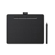 Bảng vẽ cảm ứng Wacom Intuos M with Bluetooth CTL-6100WL black (đen)-Hàng Chính Hãng thumbnail
