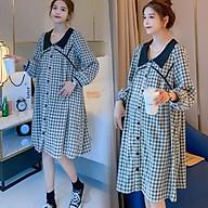 Váy Bầu, Đầm Bầu Công Sở, Dự Tiệc Azuno AZ1010 Chất Liệu Thô ĐũiCao Cấp Mẫu Mới Thu Đông 2020 thumbnail
