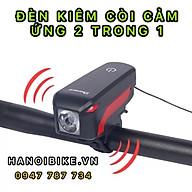 Đèn còi cảm ứng siêu sáng dành cho xe đạp 7599 thumbnail