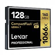 Thẻ Nhớ Lexar CF 128GB Professional 1066x (160 Mb s) - Hàng chính hãng thumbnail