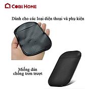 Miếng đỡ điện thoại chống trượt bằng silicone có rãnh thumbnail