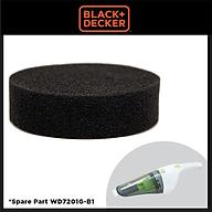 Lọc bụi dùng cho máy hút bụi cầm tay Black & Decker 90591010 (dành cho máy WD7201)- Hàng chính hãng thumbnail