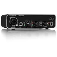 Behringer U-Phoria UMC22 USB Audio Interface - Hàng Chính Hãng thumbnail