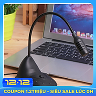 Microphone T-21 Dùng Cho Máy Tính Để Bàn - Máy Laptop - Học Trực Tuyến Và Hội Nghị AnZ thumbnail