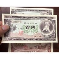 Tờ tiền cổ 100 yên của Nhật Bản 195x thumbnail