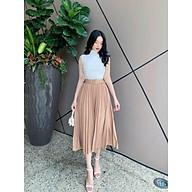 Chân váy xếp ly kèm đai hàng Quảng Châu chất đẹp thumbnail