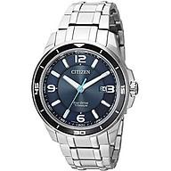 Citizen Men s Quartz Titanium Casual Watch, Color Silver-Toned (Model BM6929-56L) thumbnail
