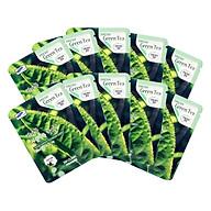 Combo 10 Gói Mặt Nạ Trà Xanh Dưỡng Da 3w Clinic Fresh Greentea Mask Sheet 100% Cotton (23ml Miếng) thumbnail