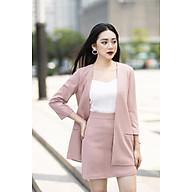 áo Vest hồng nữ đũi xước thumbnail