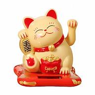 Mèo Thần Tài Vẫy Tay Tự Động Năng Lượng Mặt Trời (Giao Màu Ngẫu Nhiên) thumbnail