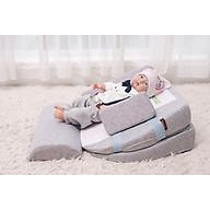 Gối chống trào ngược 15 độ (có thể điều chỉnh lên 30 độ) babylux ( Mã BL02+)( DÀNH CHO BÉ BỊ TRỚ + TRÀO NGƯỢC RẤT NẶNG) dùng cho trẻ sơ sinh 0-36 tháng thumbnail