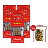 Nhụy Hoa Nghệ Tây Saffron Bahraman Combo 3 hộp 1gram hộp Tặng hoa cúc 8Gram thumbnail