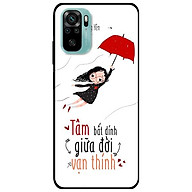 Ốp lưng dành cho Xiaomi Redmi Note 10 - Redmi Note 10 Pro - mẫu Cô Gái Dù Đỏ thumbnail