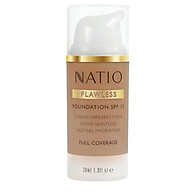 Natio Flawless Foundation SPF 15 Medium Tan Online Only thumbnail