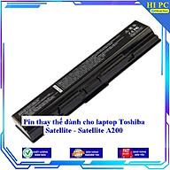 Pin thay thế dành cho laptop Toshiba Satellite - Satellite A200 - Hàng Nhập Khẩu thumbnail