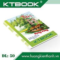 Gói 10 cuốn Tập Học Sinh Giá Rẻ Rồng Vàng KTBOOK giấy trắng ĐL 50 - 200 trang thumbnail