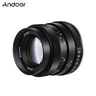 Andoer 35mm F1.2 Manual Focus Camera Lens Large Aperture APS-C Compatible with Olympus Epm2 E-PL7 E-PL8 E-P5 E-P6 thumbnail