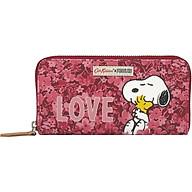 Ví dáng dài Cath Kidston họa tiết Snoopy Love Paper Ditsy (Snoopy Love Paper Ditsy Continental Placement Zip Wallet ) thumbnail