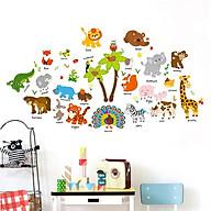 Decal dán tường trang trí phòng ngủ, lớp mầm non- Thú công- mã sp DSK9296 thumbnail