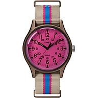 Đồng hồ Dây Vải Nữ Timex MK1 Aluminum California 40mm Fabric Strap Watch - TWT25600 thumbnail