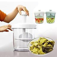 Hộp muối dưa cà thông minh 5L Kích Thước Lớn - đồ dùng nhà bếp ủ kimchi cao cấp thumbnail